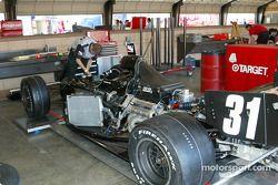 Cunningham Racing garage area