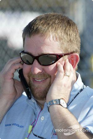 Indy Racing League's Mark Wingler