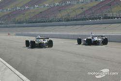 Jimmy Vasser and Alex Barron