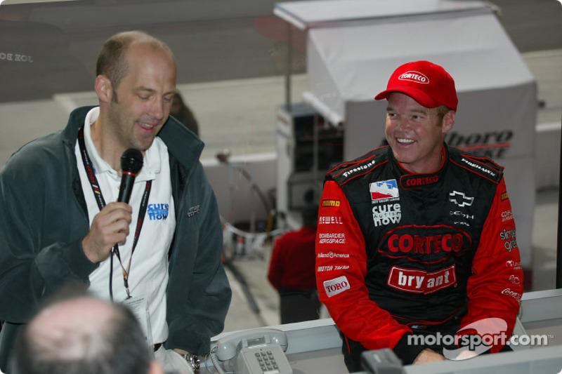 Anthony Edwards et Al Unser Jr.