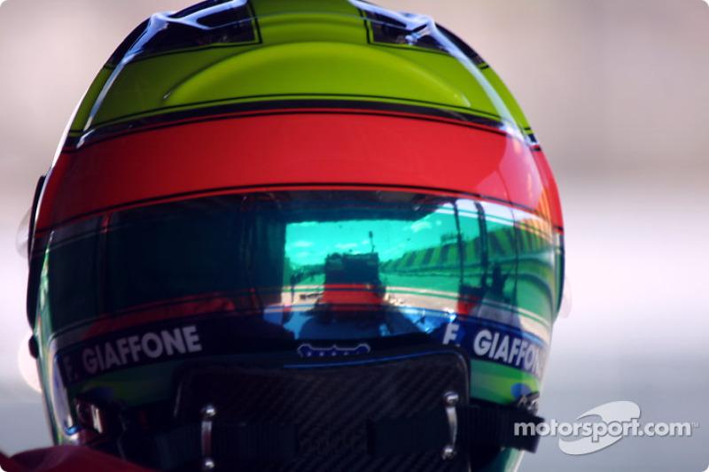 Felipe Giaffone's helmet