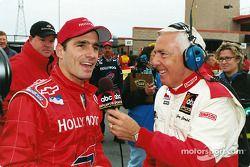 A happy Felipe Giaffone with Gary Gerold