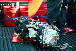 Transmission endommagée de la voiture de Mark Dismore