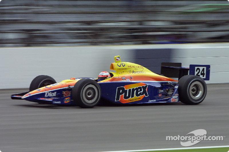 Робби Буль в гонке «500 миль Индианаполиса» 2002 года