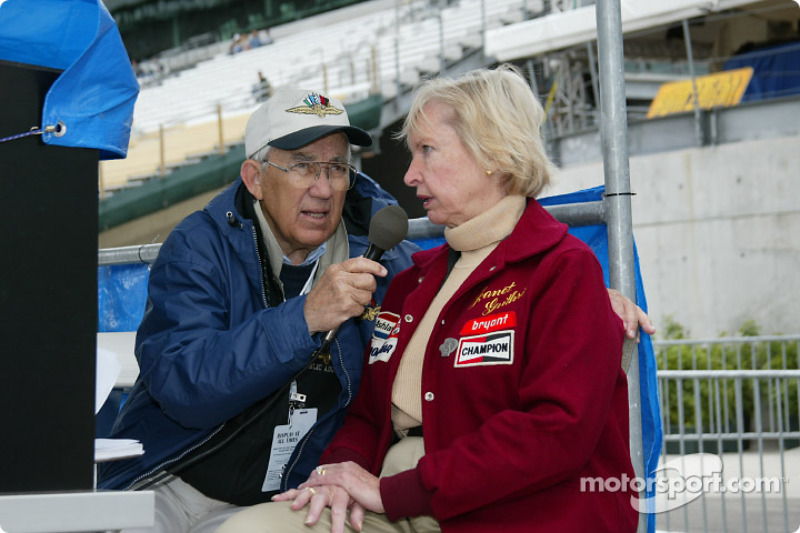 Jim Philippe e Janet Guthrie