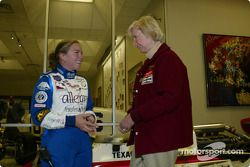 Janet Guthrie and Sarah Fisher