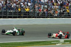 Paul Tracy en Helio Castroneves