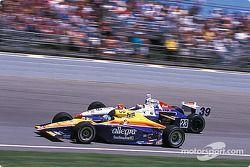 Sarah Fisher et Michael Andretti
