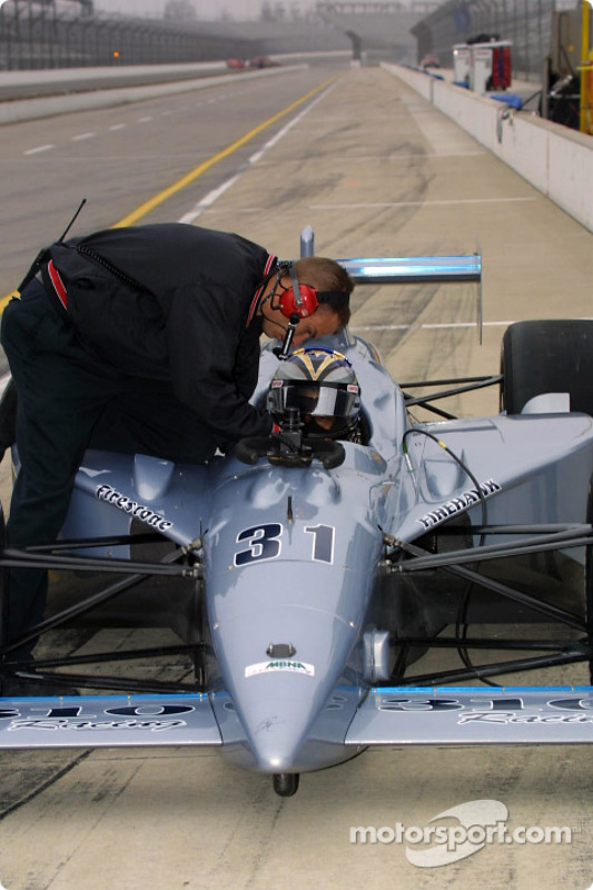 310 Racing crew member
