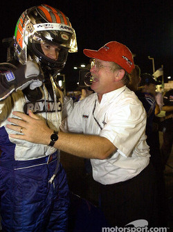 Race winner Alex Barron