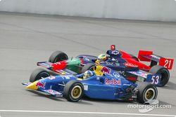 Buddy Rice et Felipe Giaffone