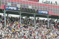Michigan International Speedway scoreboard