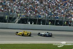 Sam Hornish Jr. and Billy Boat