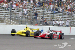Sam Hornish and Al Unser Jr.