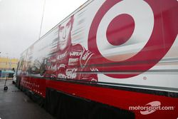 Chip Ganassi Racing transporter