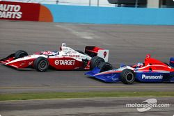 Scott Dixon and Roger Yasukawa