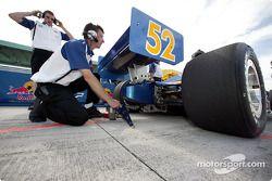Cheever Racing crew member
