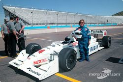 Motorsport.com's Anne Proffit takes rides in the IndyCar 2- seater driven by Jeret Schroeder