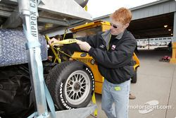 IRL packs for Motegi: IRL Senior Director of Racing Operations John Lewis has overseen the logistics