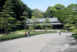 Gardens at Imperial Palace in Tokyo