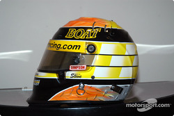 Billy Boat's helmet