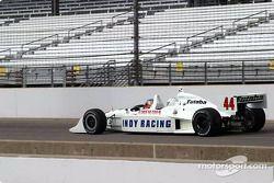 Davey Hamilton drives the Indy Racing League 2-seater car