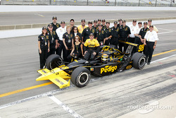 Billy Boat with Panther Racing team