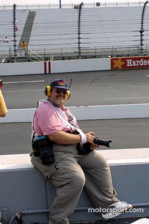Motorsport.com's photojournalist Greg Gage