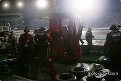 Kelley Racing pit area