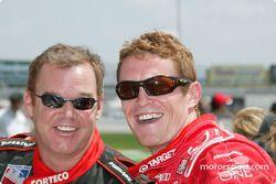 Al Unser Jr. and Scott Dixon