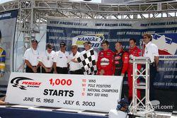 Team Penske célèbre ses 1000 départs en IndyCar: Brian Barnhardt, Johnny Rutherford, Rick Mears, Al