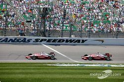Scott Dixon and Tomas Scheckter