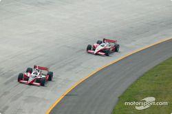 Al Unser Jr. et Tomas Scheckter