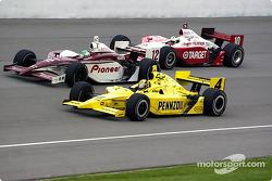 Sam Hornish Jr., Tora Takagi et Tomas Scheckter