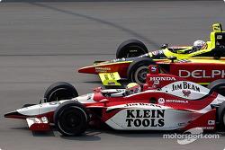 Dan Wheldon et Scott Sharp