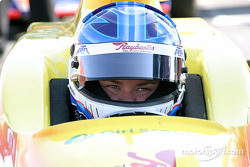 Sarah Fisher, peu avant son accident