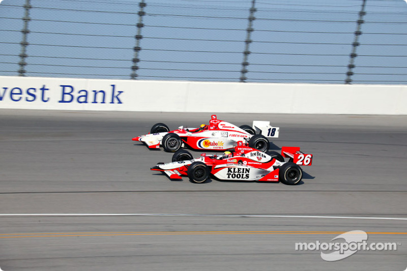 Ed Carpenter and Dan Wheldon