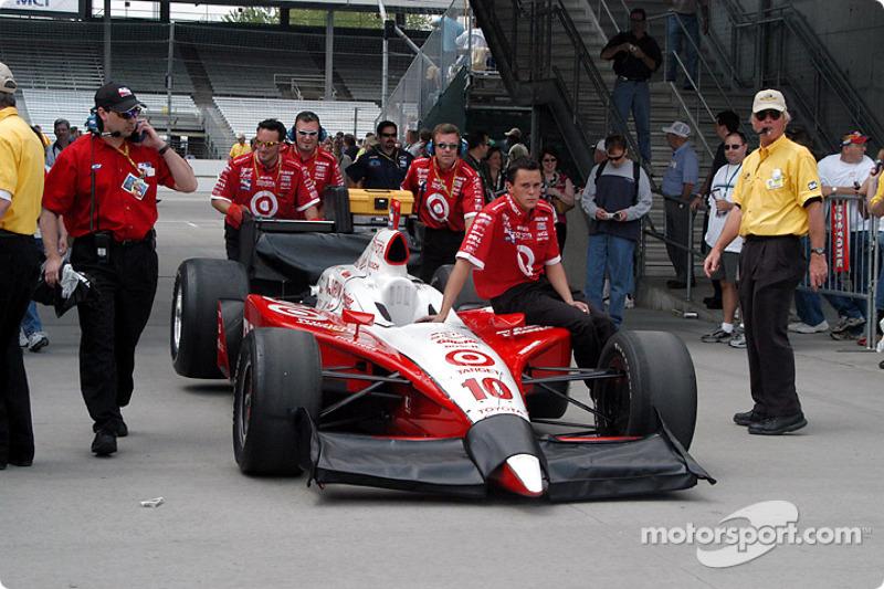 Chip Ganassi Racing crew members
