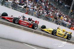Al Unser Jr. and Sam Hornish Jr.
