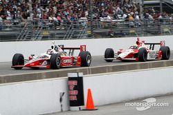 Al Unser Jr. and Dan Wheldon
