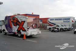 CART Fedex truck in the paddock
