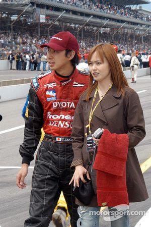 Tora Takagi and wife Yumiko