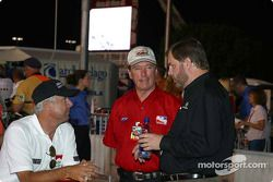 Rick Mears, Johnny Rutherford et Eddie Gossage
