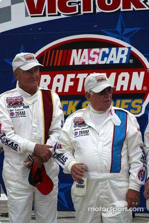 Bill Vukovich and Gordon Johncock