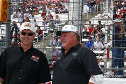 Rick Mears and A.J. Foyt