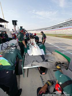 Le stand A.J. Foyt Enterprises Racing