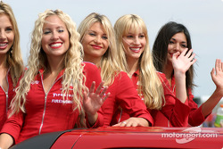 De belles IndyGirls