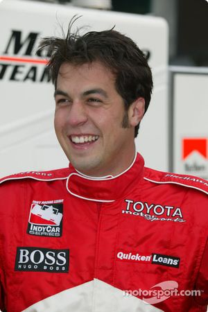Sam Hornish Jr, double champion d'IRL IndyCar Series
