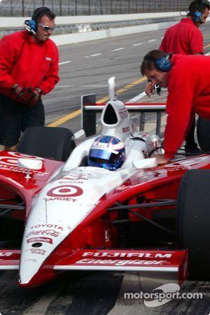 Target Chip Ganassi Racing et Scott Dixon se préparent pour mai 2004