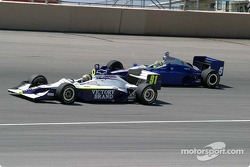 Buddy Lazier and Jaques Lazier